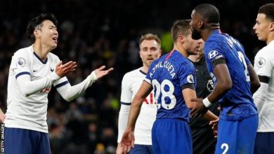 Photo of Chelsea boss defends Antonio Rudiger over Jose Mourinho criticism of Son Heung-min red card