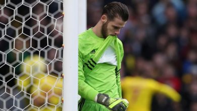 Photo of David De Gea howler gifts Watford shock win over dismal Manchester United