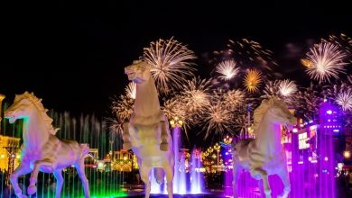 Photo of Where to watch New Year fireworks across the UAE