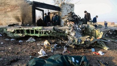 Photo of Ukrainian airliner crashes after take-off in Iran, killing all 176 aboard