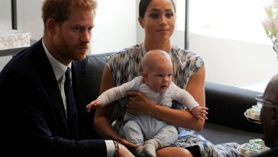 Photo of Britain's Prince Harry and Meghan to step back as senior royals