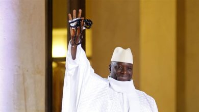 Photo of Thousands rally in The Gambia for ex-leader Yahya Jammeh's return