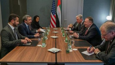 Photo of US Secretary Pompeo meets with Sheikh Abdullah in Germany