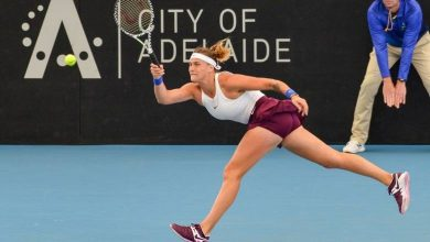 Photo of Halep knocked out in Adelaide quarterfinals
