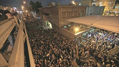 Photo of Protesters call for Khamenei to quit after plane downing
