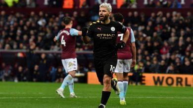 Photo of City thrash Villa with Aguero's record-breaking hat trick