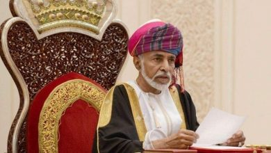 Photo of His Majesty Sultan Qaboos of Oman passes away