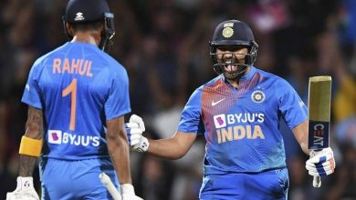 Photo of Rohit Sharma stars as India clinch T20 series