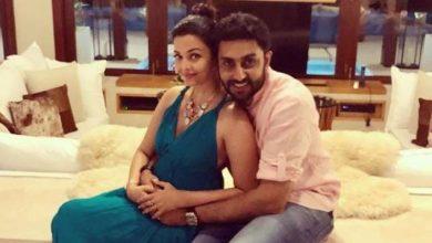 Photo of Is Aishwarya pregnant, fans wonder after Abhishek promises a surprise
