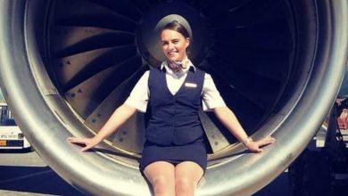 Photo of Air hostess gets 7 leg fractures after air turbulence, photos go viral