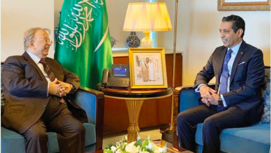 Photo of Saudi envoy receives Libyan ambassador to the UN