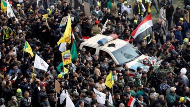 Photo of Chants of 'death to America' at Qassem Suleimani funeral