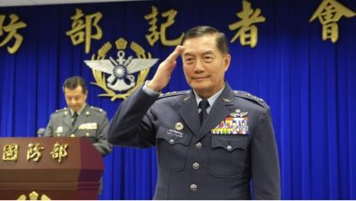 Photo of Taiwan top general killed in helicopter crash