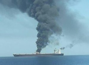Photo of Two dead, three missing in Wednesday's tanker fire off coast of Sharjah