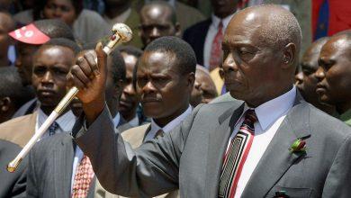 Photo of Kenya's ex-president Daniel Arap Moi dies