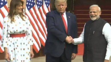 Photo of Photos: Trump, Modi meet at Hyderabad House