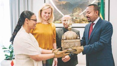 Photo of Rare Ethiopian crown returns home
