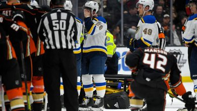 Photo of When a Teammate Collapsed, the St. Louis Blues Reeled. Then They Rallied.