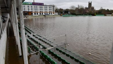 Photo of Worcestershire confirm venue switch after 'unprecedented' flooding at New Road home