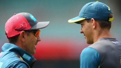 Photo of Justin Langer confronted Tim Paine in raw Headingley debrief