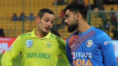 Photo of Coronavirus: India v South Africa ODI series rescheduled