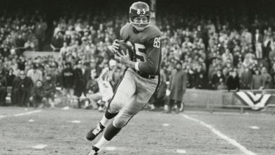 Photo of Del Shofner, Master Pass Receiver With the Giants, Dies at 85