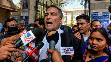 Photo of Men Convicted in Delhi Bus Rape Are Hanged in India