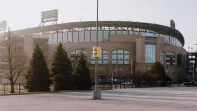 Photo of It's Opening Day. Baseball Is Closed.