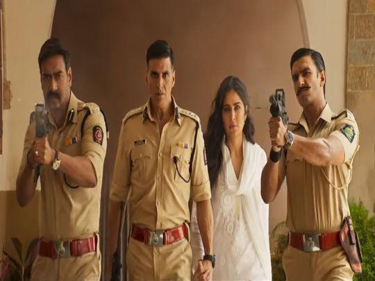 Ajay Devgn, Akshay Kumar Katrina Kaif and Ranveer Singh