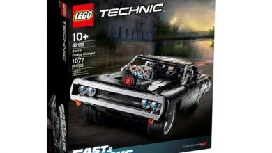 Photo of Pass the time by building Dominic Toretto's 1970 Dodge Charger R/T from Fast and Furious!