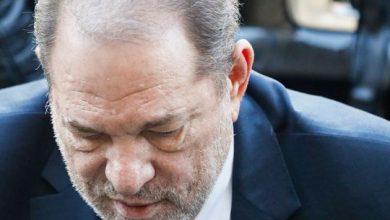 Photo of Harvey Weinstein sentenced to 23 years in prison