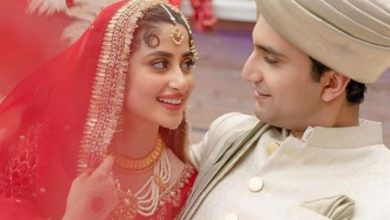 Photo of Inside the Abu Dhabi wedding of Pakistan's power couple Sajal Aly and Ahad Raza Mir