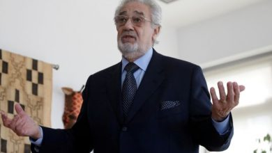 Photo of Placido Domingo's name removed from Washington Opera programme