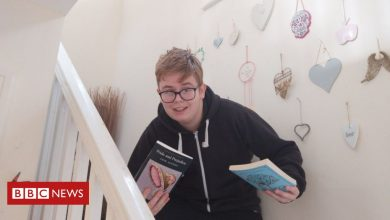 Photo of Callum Manning: Online surge of support for bullied book lover