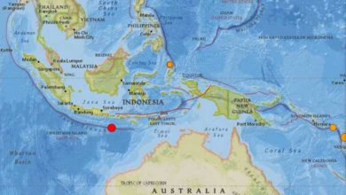 Photo of 6.3-magnitude quake strikes south of Indonesia's Bali