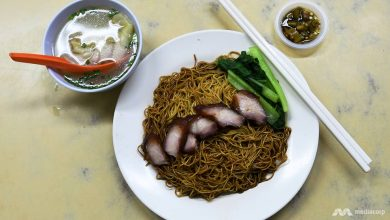 Photo of Malaysian hawker sends wonton mee 'flying' for full flavour