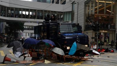 Photo of Bomb-making materials seized by Hong Kong police