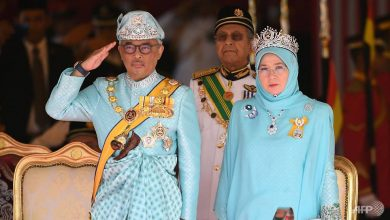 Photo of Malaysia's king, queen under quarantine after 7 palace employees test positive for COVID-19