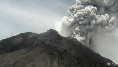 Photo of Indonesian volcano spews massive ash cloud