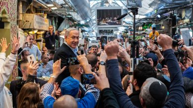 Photo of Israeli Slugfest:The Campaign in Pictures