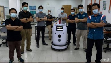 Photo of 'Medibot' to do rounds on Malaysian COVID-19 wards