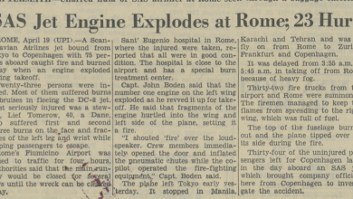 Photo of 1970: Jet's Engine Explodes, Injuring 23