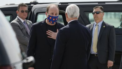 Photo of As Leaders Urge Face Masks, Their Behavior Muffles the Message