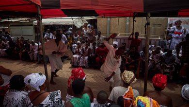Photo of Ghana's dancing pallbearers: Coronavirus grim reapers go viral