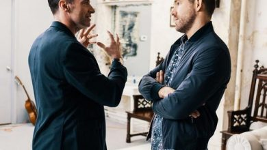 Photo of Ryan Reynolds, Hugh Jackman pause feud for COVID-19 relief
