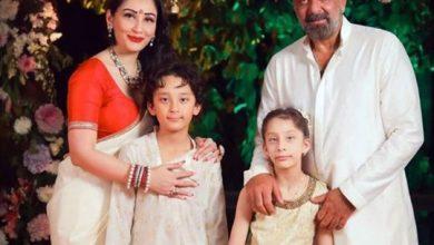 Photo of Bollywood actor Sanjay Dutt's family stranded in Dubai amid COVID-19 lockdown