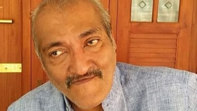 Photo of Malayalam actor Kalinga Sasi dies