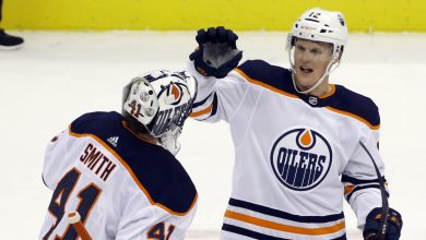 Photo of Colby Cave: Oilers forward dies at 25 after brain bleed