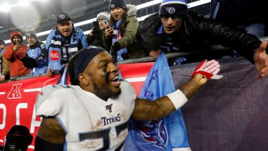 Photo of Derrick Henry contract: Signs $10.2 million franchise tender with Titans