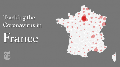 Photo of France Coronavirus Map and Case Count
